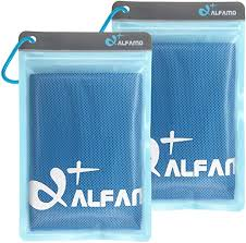 Amazon.com : Alfamo Cooling Towel for Sports, Workout, Fitness ...
