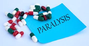 child paralysis symptoms
